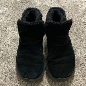 Skechers Chugga black bootie Size 7